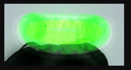 Glimmering Alien Halo