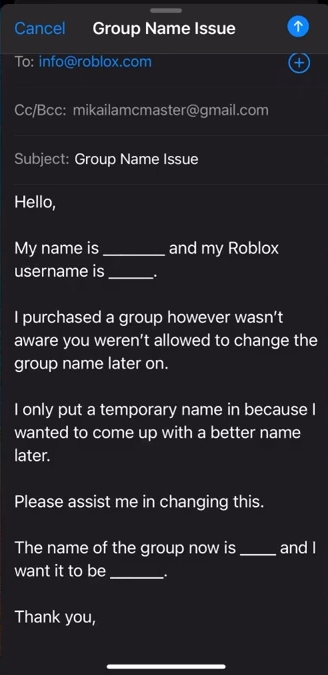 How To Change Your Group Name On Roblox - Game Specifications