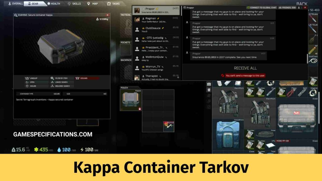 Kappa Container Tarkov