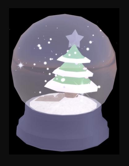 Magical Winter Snowglobe