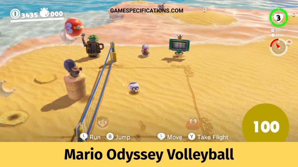 Mario Odyssey Volleyball