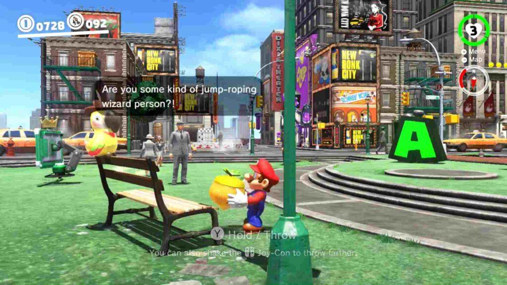 Mario Odyssey Volleyball Talkatoo Glitch