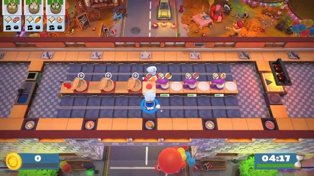 Overcooked 2 Kevin Level Carnival of Chaos