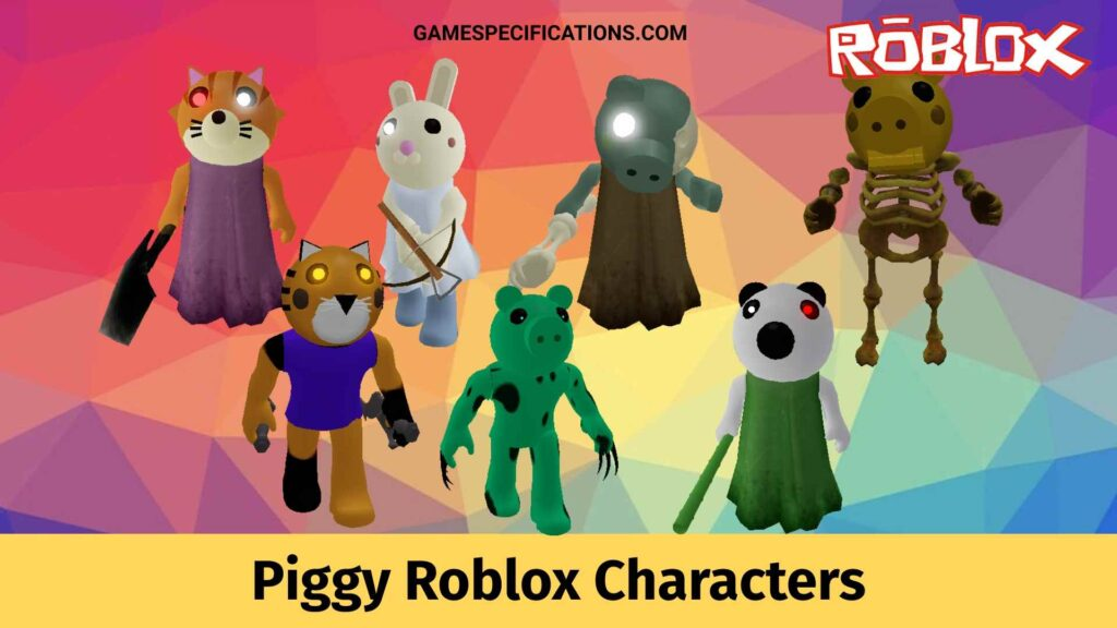 Piggy Roblox Characters