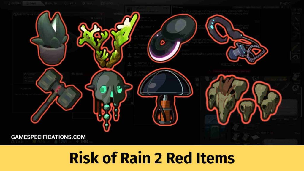 Risk of Rain 2 Red Items
