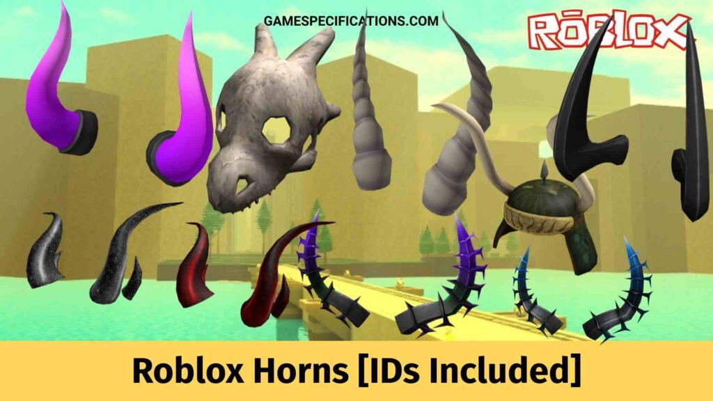 Roblox Horns