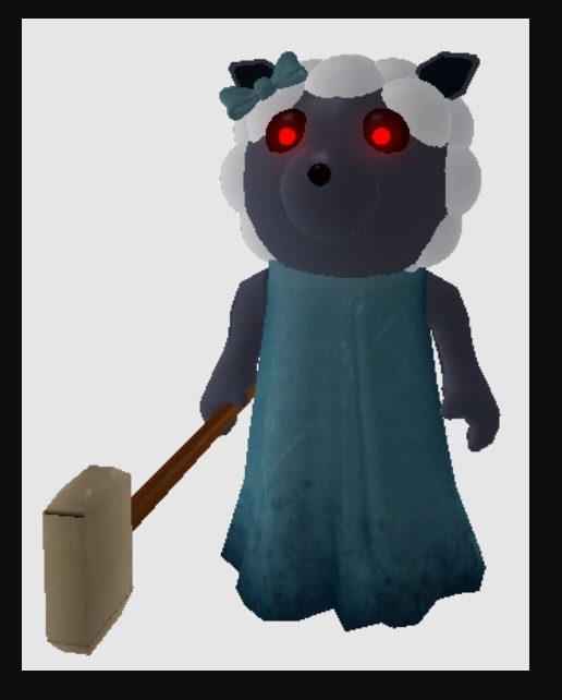 Sheepy Character in Piggy