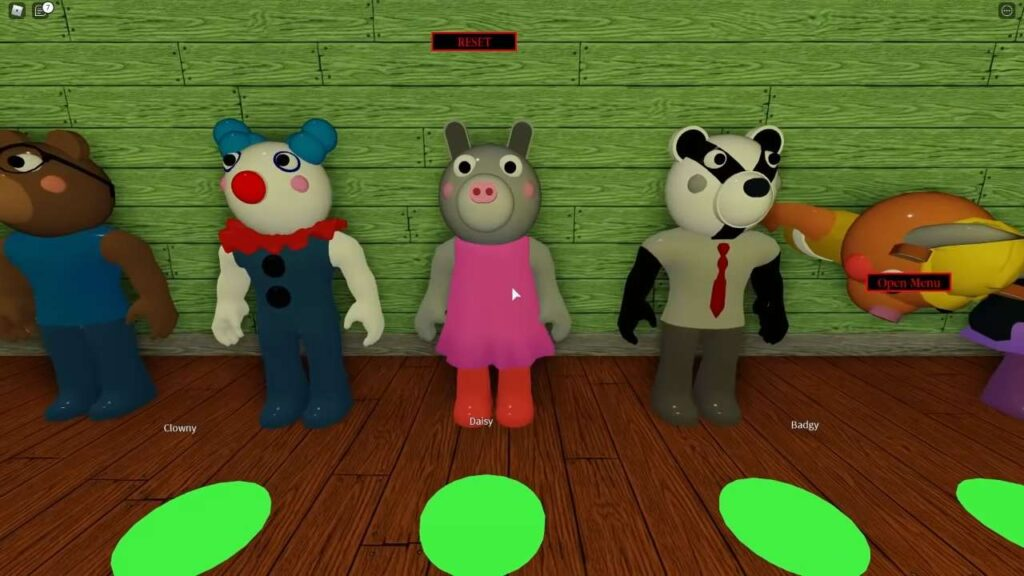 Piggy Roblox Characters Preview