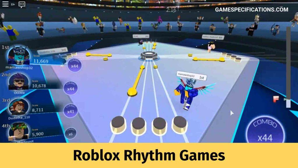 Roblox Rhythm Games