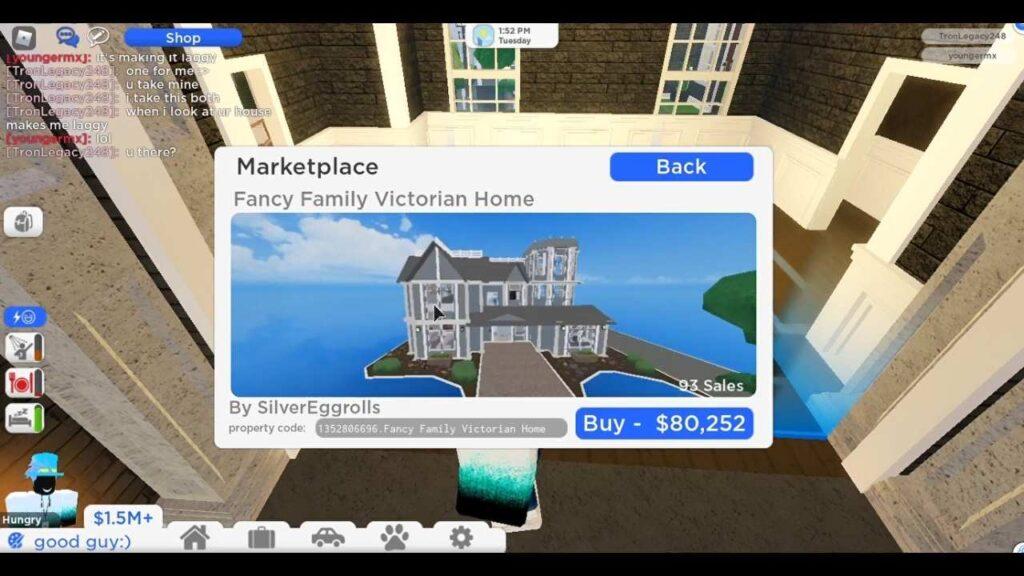 Roville House Codes Under 100k