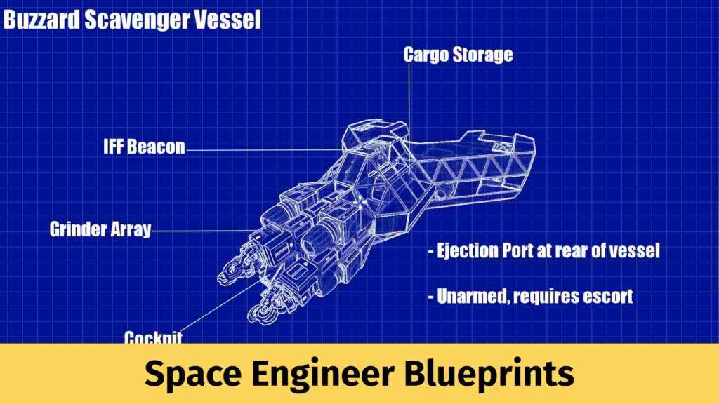 Space Engineer Blueprint