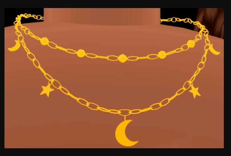 Stars & Moon Pendant