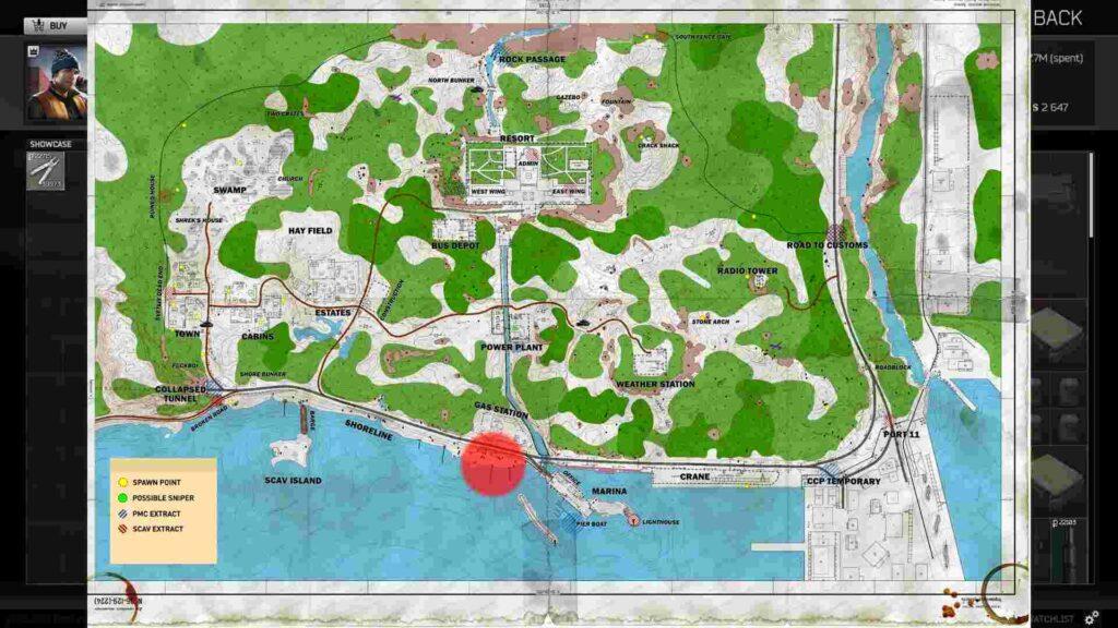 Location Of Tarkov Fishing Gear