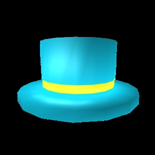The Blue Banded Top Hat
