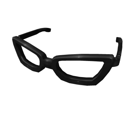 Thick Rimmed Roblox Glasses 3.0