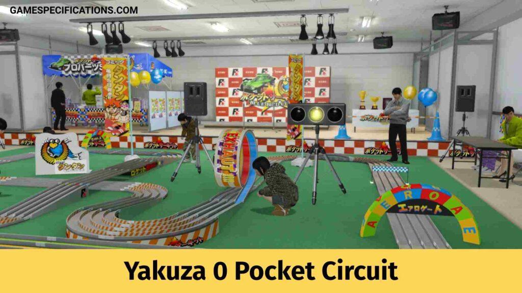 Yakuza 0 Pocket Circuit