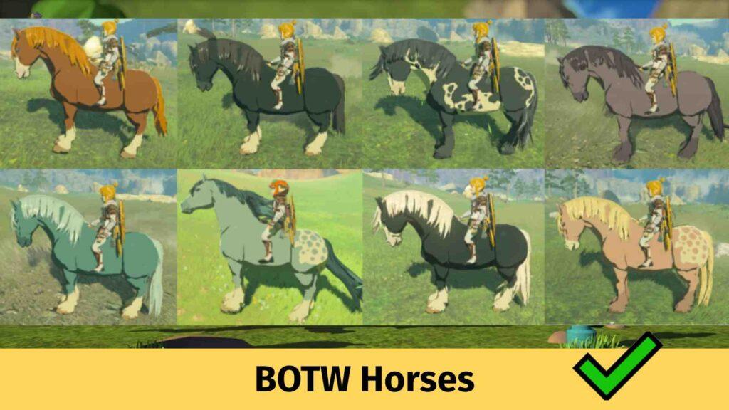 Botw Horses