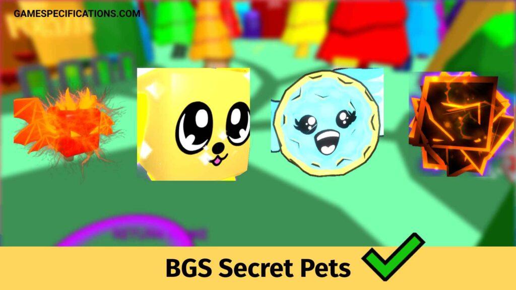 Bubble Gum Simulator Secret Pets