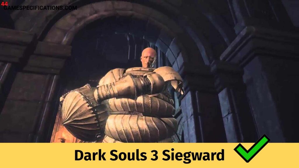 Dark Souls 3 Siegward