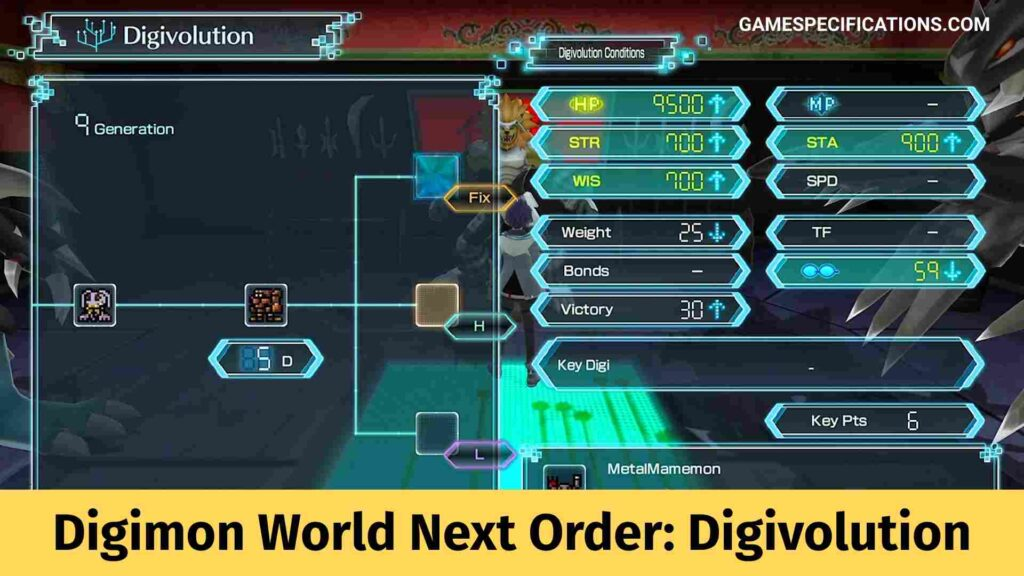 Digimon World Next Order Digivolution