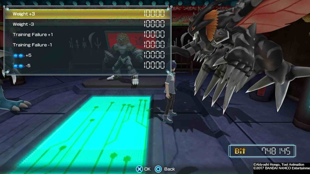 Effects of Digivolution in Digimon World Next Order