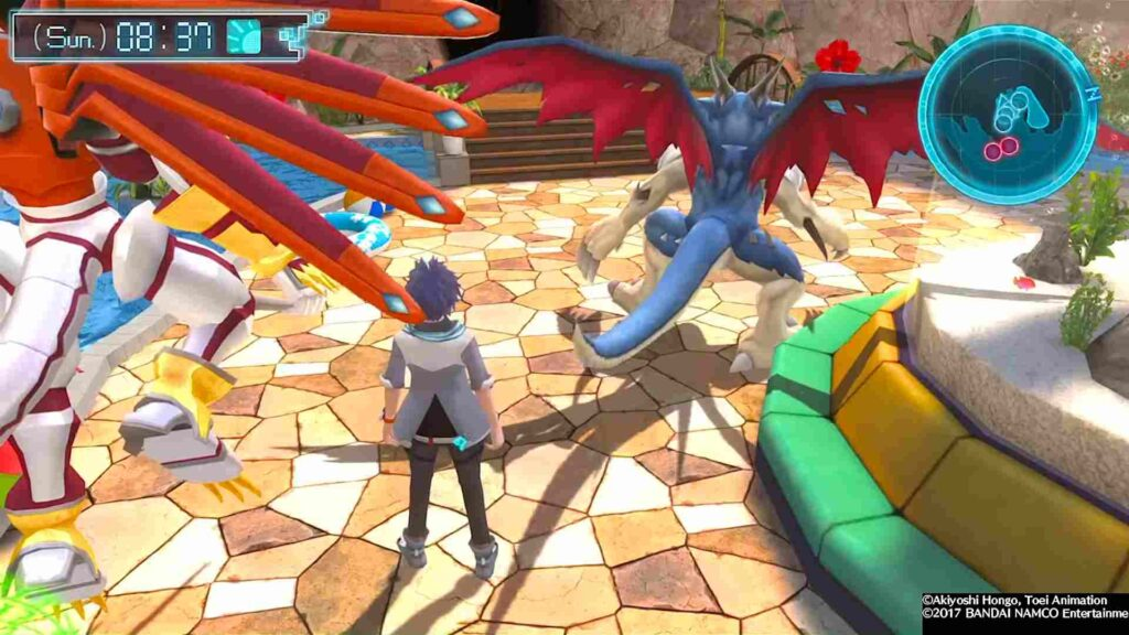 Digimon World Next Order Gameplay