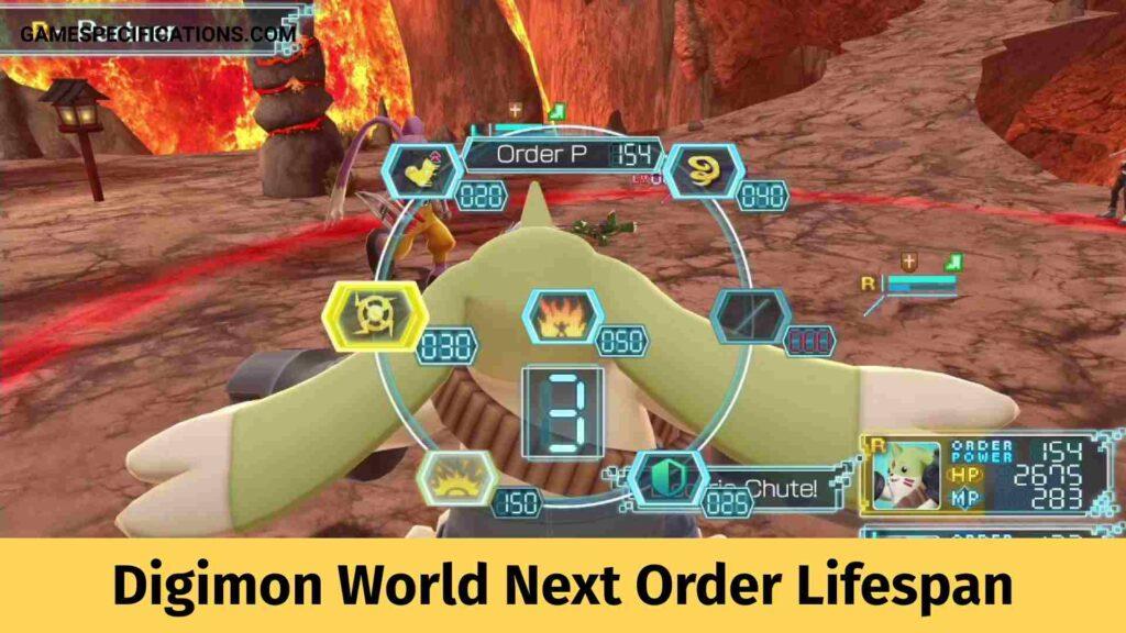 Digimon World Next Order Lifespan