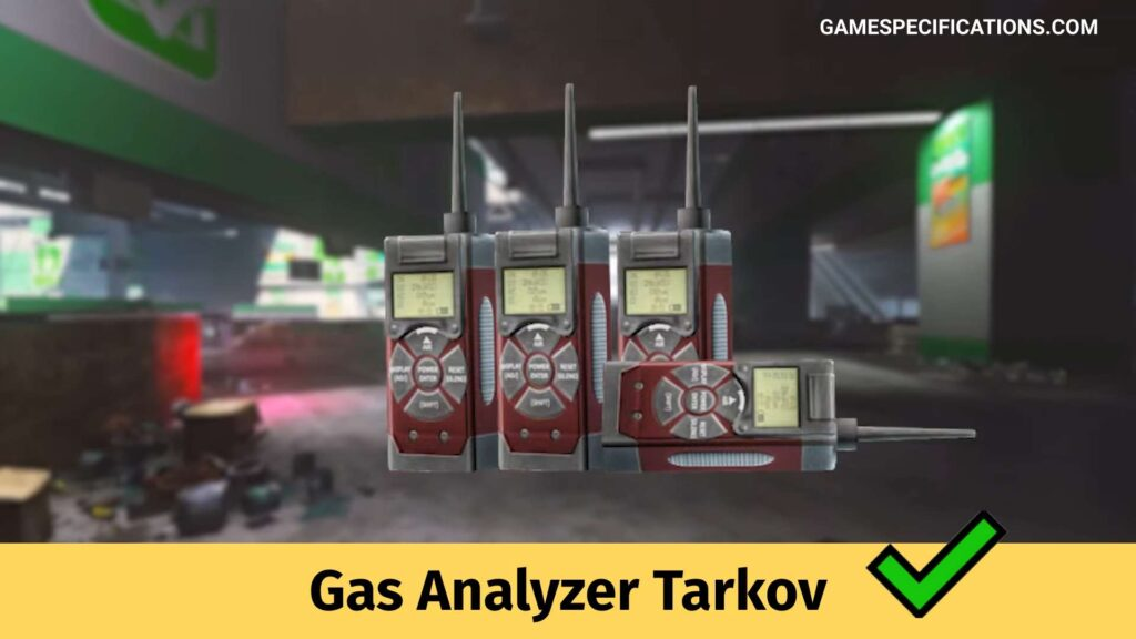 Gas Analyser Escape From Tarkov