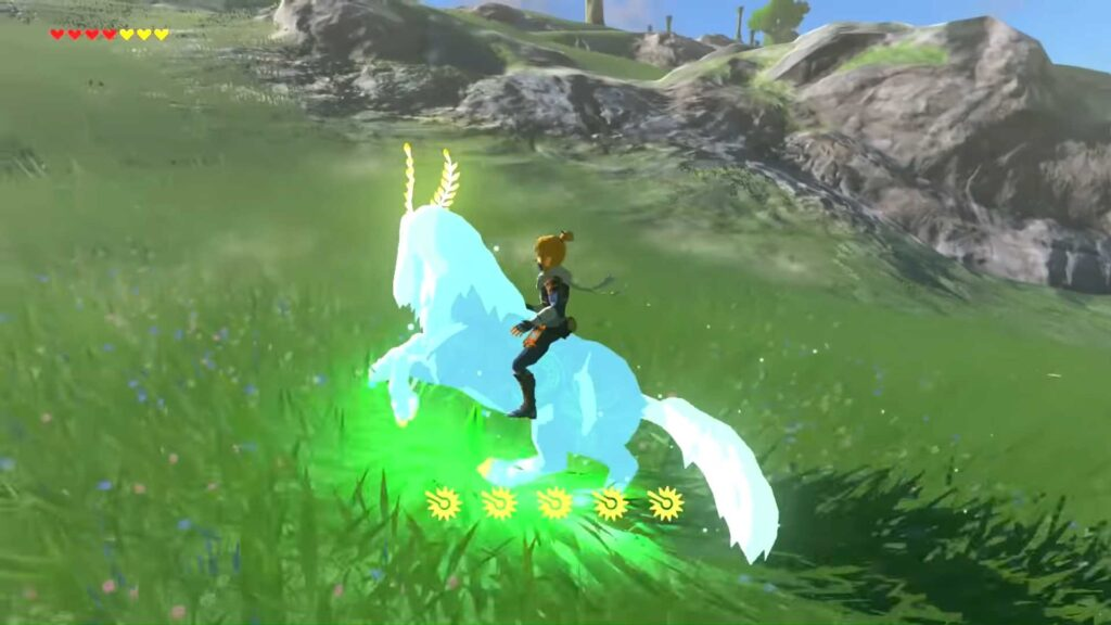 The Lord of the Mountain botw