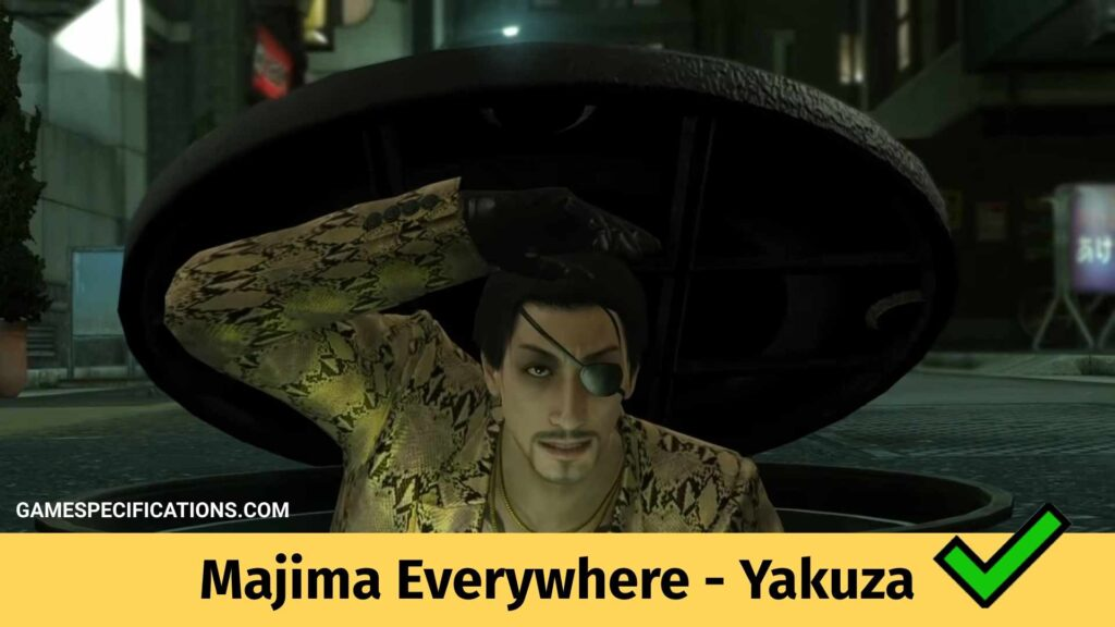 Majima Everywhere