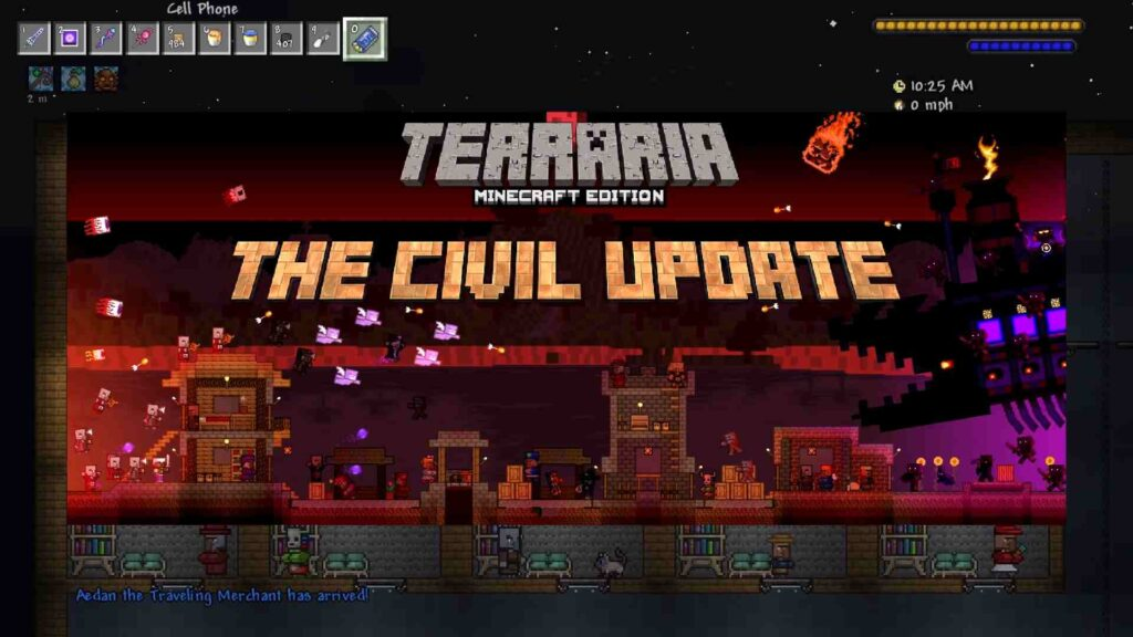 Minecraft Texture Pack for Terraria