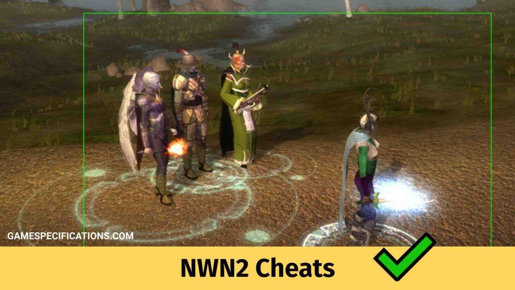 NWN2 Cheats
