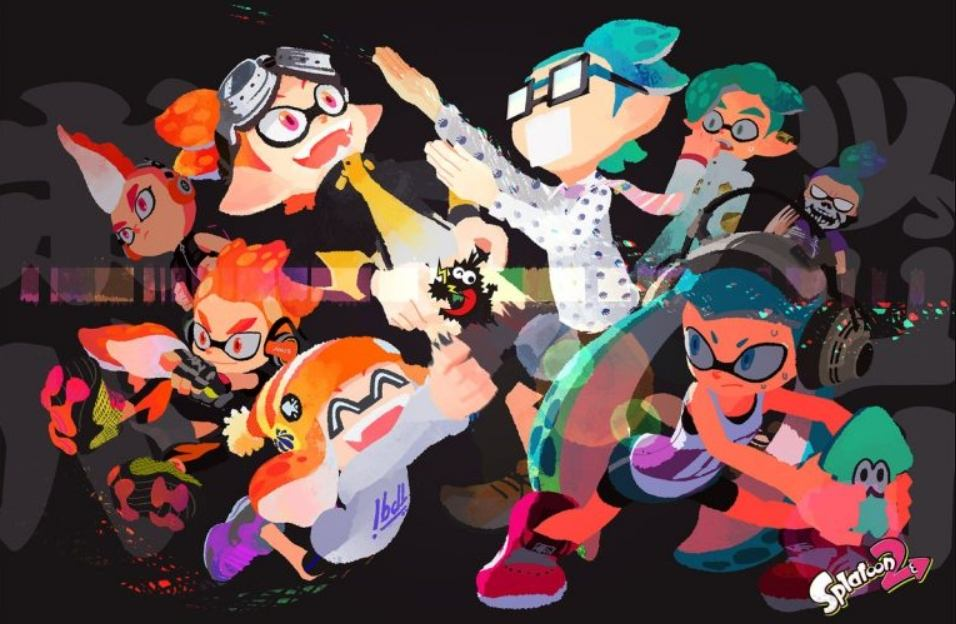 New Japanese Splatfest Art Makes a Comical Clash of Personalities