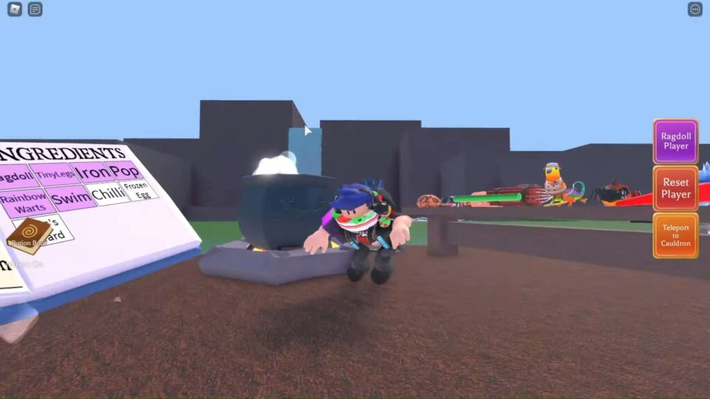 Make A Potion In Roblox Wacky Wizards