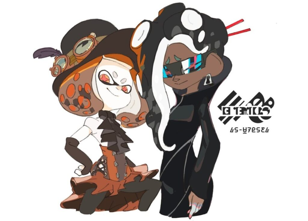Splatfest Artwork for Both Japan and North America