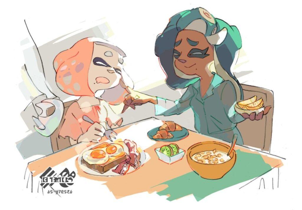 Warm breakfast vs. Cold breakfast
