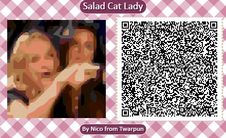 Angry Salad Lady