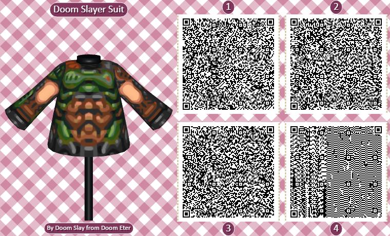 Animal Crossing QR Codes Poster - Doom