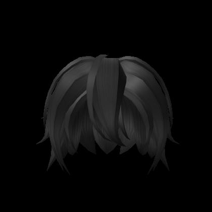 Black Anime Hair For Boys