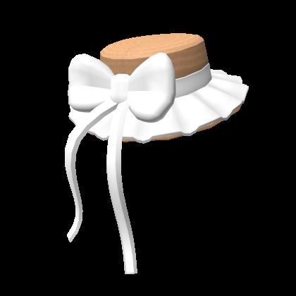 Cottage core hat
