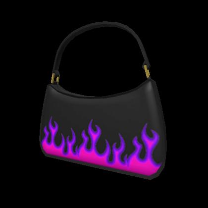 Purple aesthetic purse