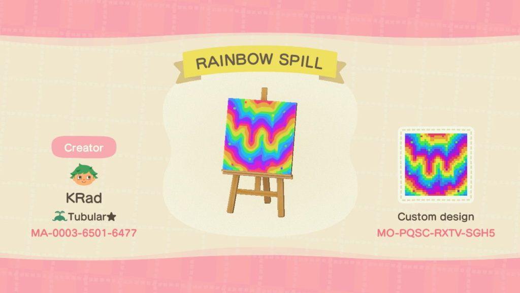Rainbow Slime Pattern