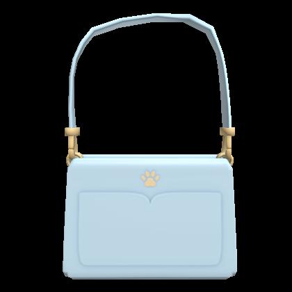 Scftberry light blue shoulder bag