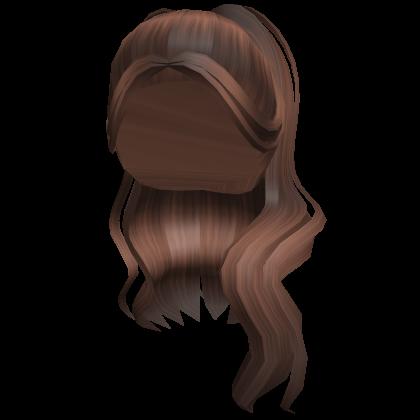 Scftberry long brown hair